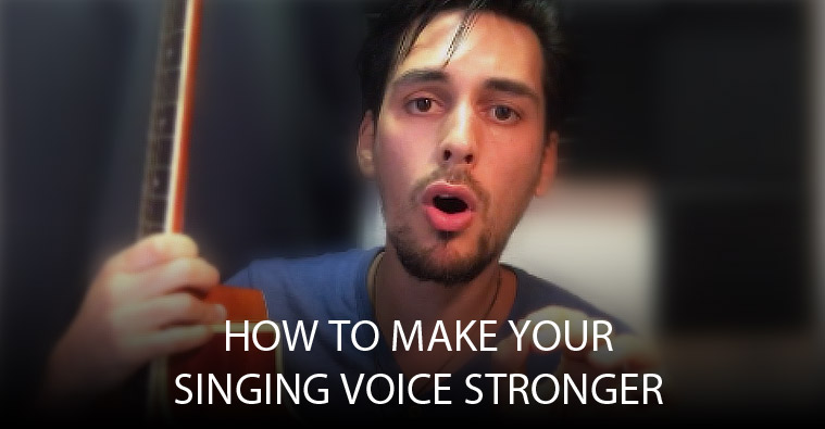 How to make your singing voice stronger