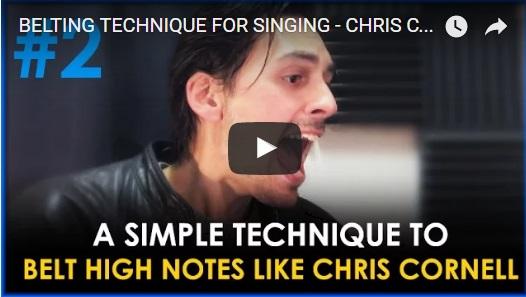 BELTING TECHNIQUE FOR SINGING – CHRIS CORNELL VOCAL TECHNIQUE