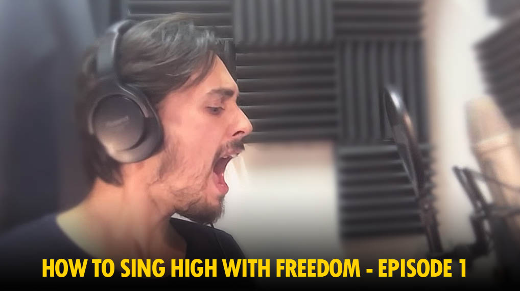 HOW TO SING HIGH NOTES WITHOUT SHOUTING – EP 1