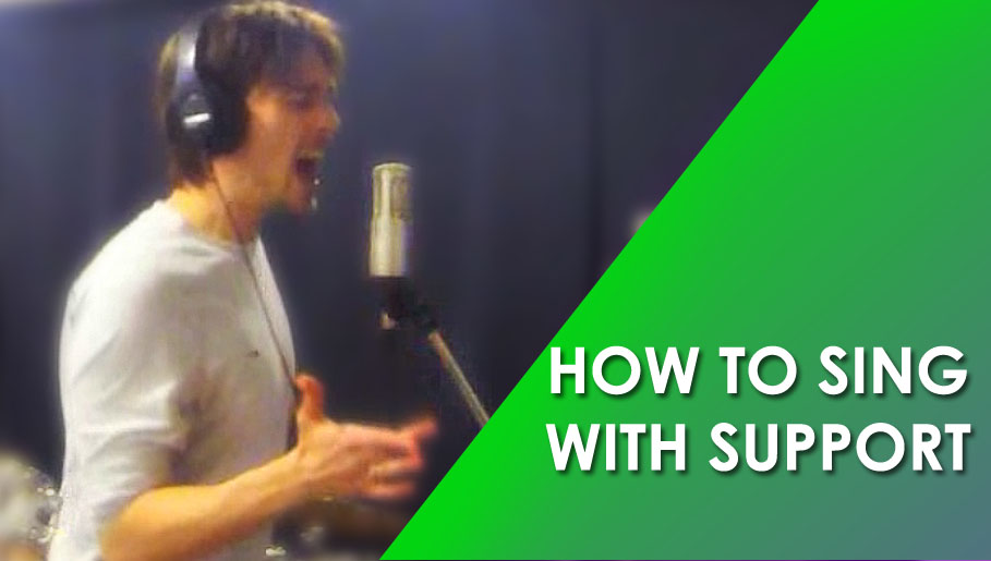 HOW TO SING WITH SUPPORT – SING WITH THE DIAPHRAGM
